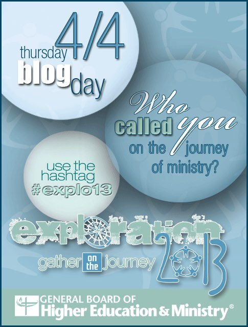 SynchBlog Day on 4/4 – Who Called You? #Explo13 #UMC