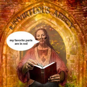Holy Humor 02 – Interview with THE Unvirtuous Abbey