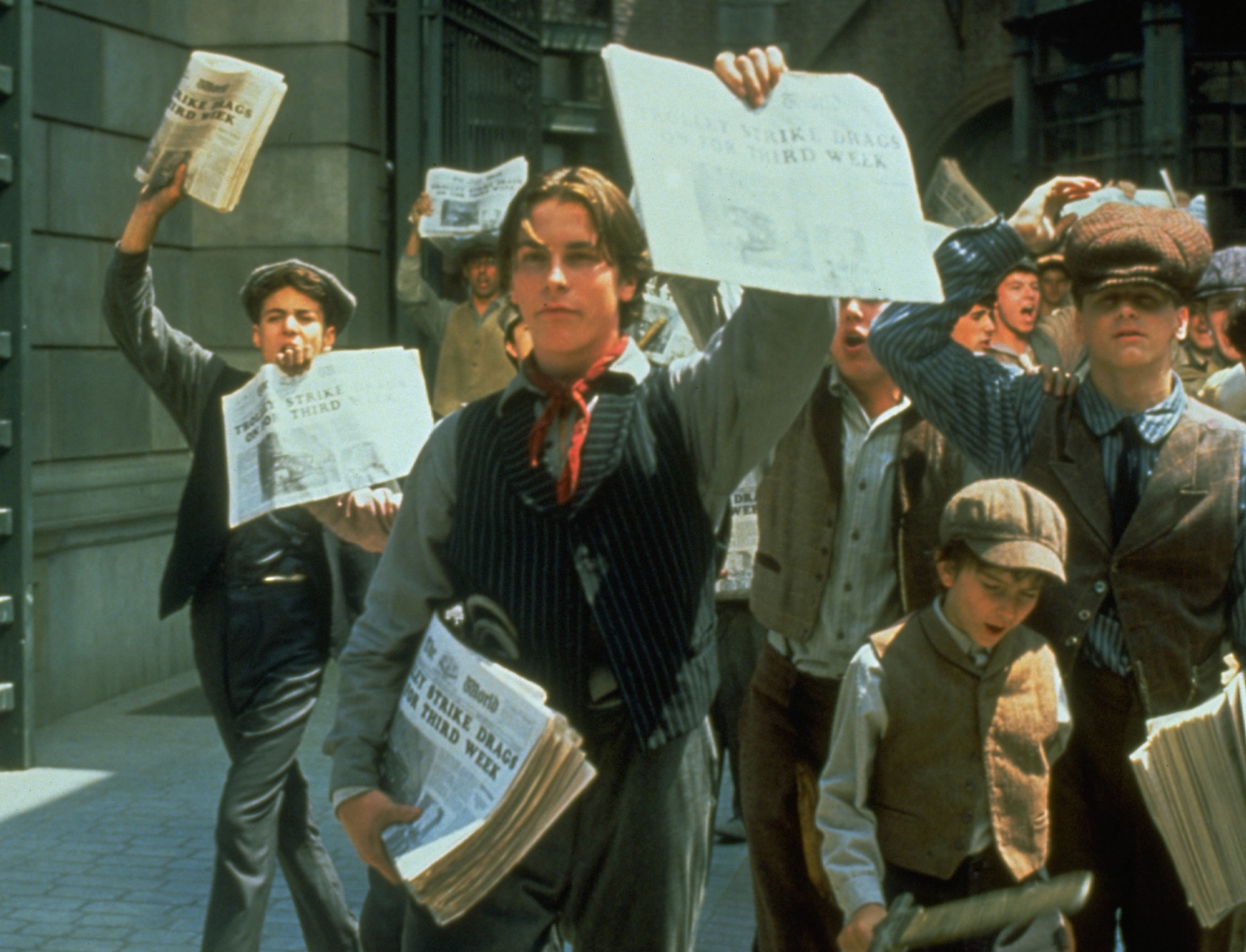 Image Result For Newsies In Movie