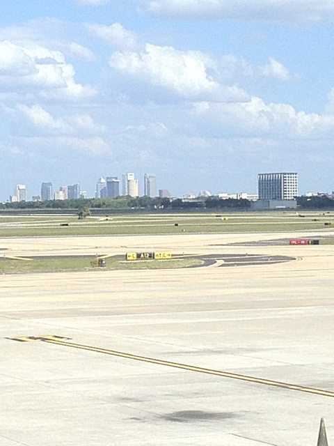Leaving Tampa #GC2012