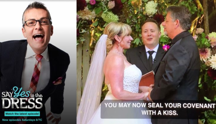 """The rumors are true: I officiated a wedding on """"Say Yes To The Dress"""""""