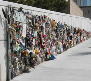 Chain Link Memorial Fence, 2002.