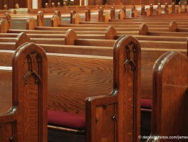 To strengthen diversity, sit closer together in the pews