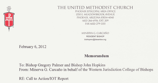 #UMC Bishops Question #CallToAction Governance