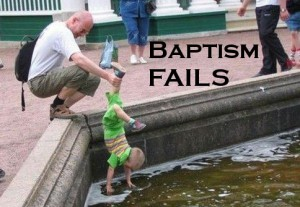 Baptism FAILS: Drive-Thru Infant Baptisms [3of3]