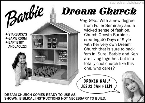 Church Growth Barbie