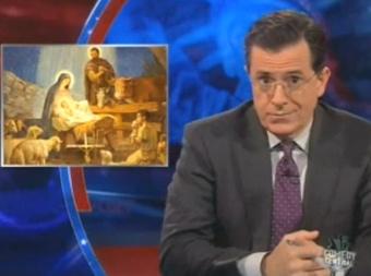 Stephen Colbert v. Jesus-hijacking