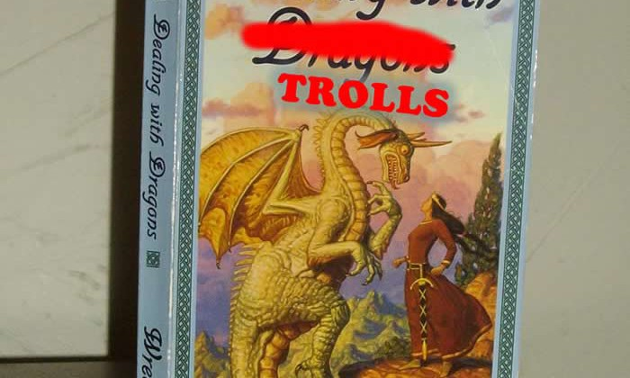 Disarming Internet Trolls [1of3]: Are they in the Arena?