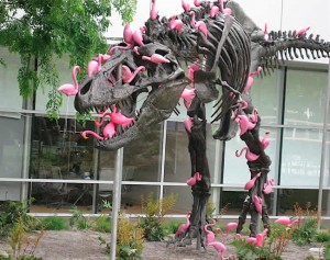 dinosaur-flamingo