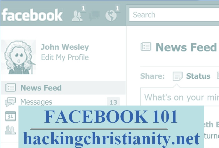 Facebook 101 Presentation for Church Youth Groups