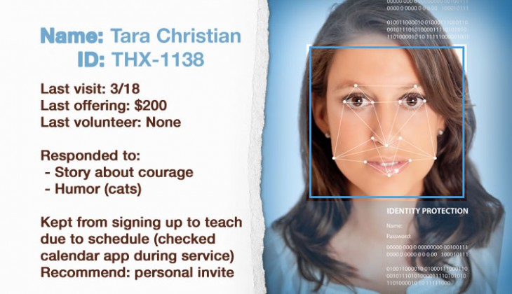 Worship 2020: Facial Recognition for the personal touch in worship