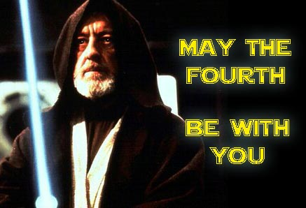May the Fourth Be With You Always