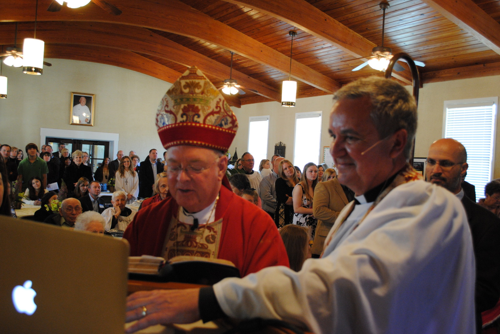 If we are the Body, why aren't our Bishops Skyping?