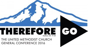 Official Logo: General Conference 2016 of the United Methodist Church