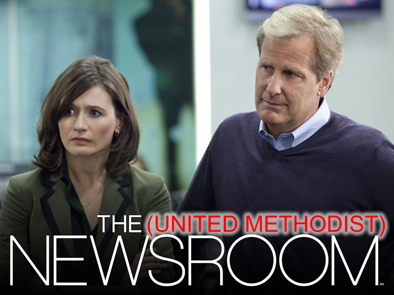 The Newsroom takes on the Methodist Dilemma