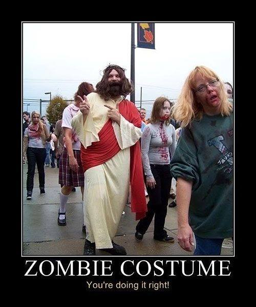 Look, Nerds, Jesus was NOT a Zombie