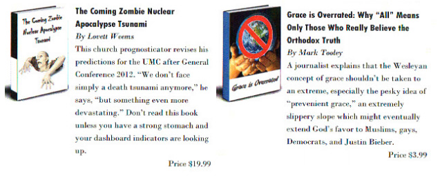 The Coming Zombie Nuclear Apocalypse Tsunami, by Lovett Weems (And Other Titles)