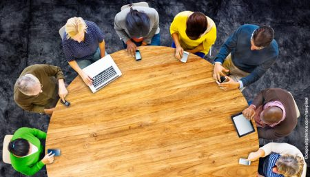table.crowdsourcing.collaboration.depositphotos
